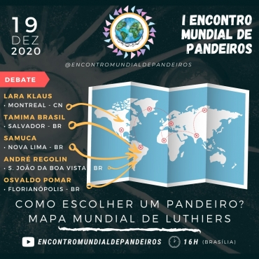 1º ENCONTRO MUNDIAL DE PANDEIROS